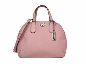 Coach Prince Street Satchel In Crossgrain Leather 34939