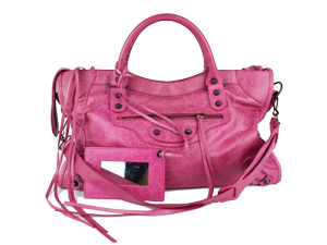 SOLD OUT Balenciaga Pink Motocycle Classic City