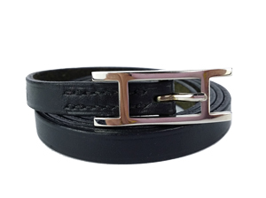 SOLD OUT Hermes Black Behapi Bracelet