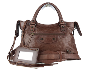 Balenciaga Brown Leather Hand/Sling Bag