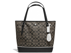 BRAND NEW Coach Peyton Perforated Top Zip Tote F29886