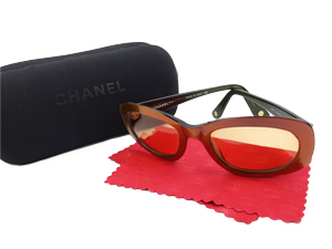 Chanel CC Logo Quilted Sunglasses