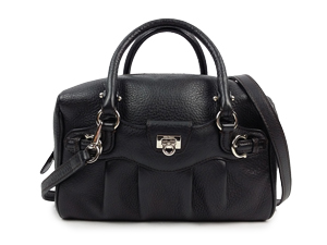 SOLD OUT Salvatore Ferragamo Black Two Way Bag