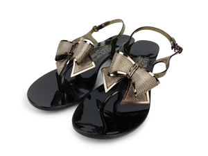 Salvatore Ferragamo Sunshine Jelly Thong Sandals Size 8