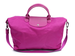 SOLD OUT Longchamp Le Pliage Pink Neo Handle/Sling Bag
