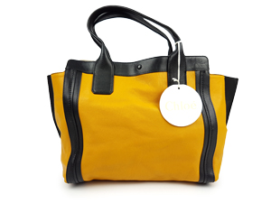 SOLD OUT Chloe Alison Yellow leather tote