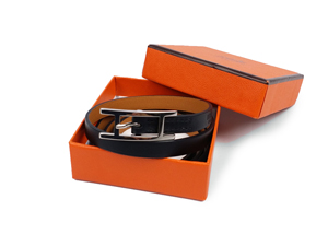 Hermes Black Behapi 3 Bracelet PM