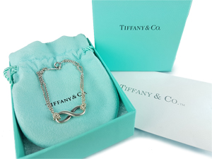 Tiffany & Co Sterling Silver Infinity Bracelet