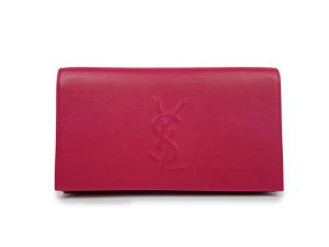 BRAND NEW YSL Yves Saint Laurent Pink Leather Clutch