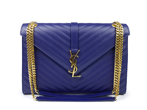 SOLD OUT YSL Yves Saint Laurent Monogram Satchel Bag