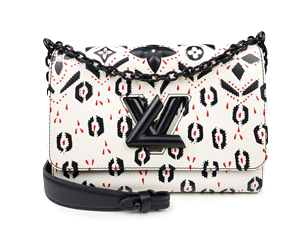 Louis Vuitton Graphic Print Leather Twist MM