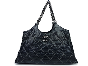 Chanel Wild Stitch Chain Tote