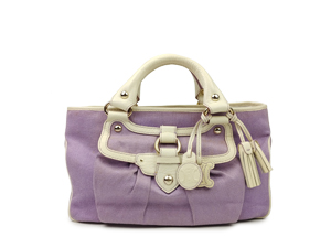 Celine Canvas Boogie Handbag