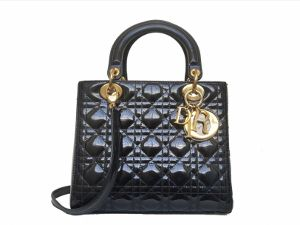 Christian Dior Black Lady Dior WGH