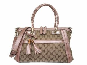 Gucci GG Canvas Two Way Bag